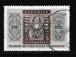 AUSTRIA 1966 Used Stamp(s) Bank Emblem Nr. 1207 - 1945-.... 2nd Republic