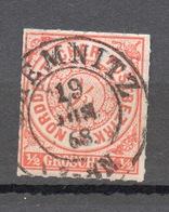 GERMANIA  DEL NORD 1868   1 G. - North German Conf.
