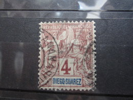 "VEND BEAU TIMBRE DE DIEGO-SUAREZ N° 40 , CACHET "" TANANARIVE "" !!! - Used Stamps"