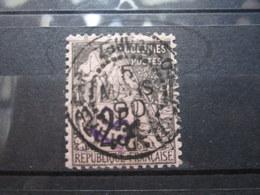 "VEND BEAU TIMBRE DE DIEGO-SUAREZ N° 5 , CACHET "" DIEGO-SUAREZ "" !!! - Diego Suarez (1890-1898)"