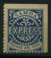 SAMOA ( POSTE ) Y&T N°  1  TIMBRE  NEUF  AVEC  TRACE  DE  CHARNIERE . - Samoa