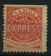 SAMOA ( POSTE ) Y&T N°  2  TIMBRE  NEUF  AVEC  TRACE  DE  CHARNIERE . - Samoa