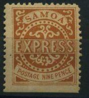 SAMOA ( POSTE ) Y&T N°  4  TIMBRE  NEUF  AVEC  TRACE  DE  CHARNIERE . - Samoa