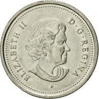 Monnaie, Canada, Elizabeth II, 25 Cents, 2005, Royal Canadian Mint, TTB, Nickel - Canada