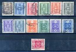 1931 ITALIA REGNO SEGNATASSE SET USATO - 1900-44 Vittorio Emanuele III