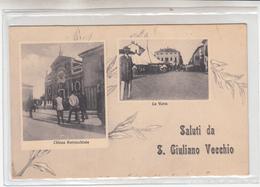 Saluti Da San Giuliano Vecchio-AL-Vg Il 09.01.1915-Originale100%an1--2 Scan- - Alessandria