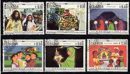 Ecuador 1967 Mi Nr  1392 - 1397, Christmas, Kerstmis, - Ecuador