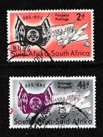 SOUTH AFRICA UNION 1954 Used Stamps Orange Free State  Nrs. 237-238 - South Africa (...-1961)