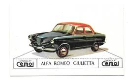 AL79 - IMAGE CHOCOLAT CEMOI - ALFA ROMEO GIULIETTA - Voitures