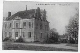 PONT AUX MOINES - N° 10 - LE CHATEAU DE REUILLY - CPA NON VOYAGEE - France