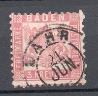 1862 BADEN 3 K - Bade