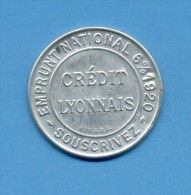 "Timbre Monnaie "" CREDIT LYONNAIS "" - 10 Centimes N° 138 - Très Rare - Advertising"