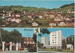 Herisau - Teilansicht, Kinderparadies Sedal, Alterssiedlung - Photo: Rud. Suter - AR Appenzell Rhodes-Extérieures