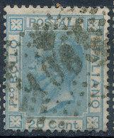 ITALY - Regno 1867 - Vittorio Eman II - 20 Cent  Fancy Cancel Numeral Used Lot#a58 - 1861-78 Vittorio Emanuele II