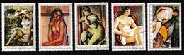 YougoslavieONus Féminins - PeintureY&T1242 à 1246 - Gebraucht
