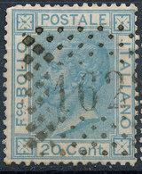 ITALY - Regno 1867 - Vittorio Eman II - 20 Cent  Fancy Cancel Numeral Used Lot#a141 - 1861-78 Vittorio Emanuele II