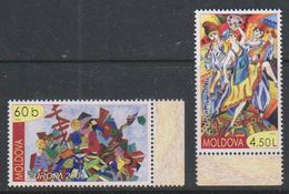 Europa Cept 2006 Moldova 2v ** Mnh (39882A) - Europa-CEPT