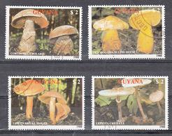 Guyana 1989 Mi Nr 2480 - 2483 Paddenstoelen, Mushroom (1) - Guyana (1966-...)