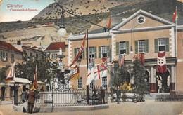 """08215 """"GIBRALTAR - COMMERCIAL-SQUARE"""" ANIMATA. CART  NON SPED - Gibilterra"""