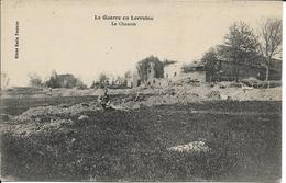 D54 - LE CHAMOIS - LA GUERRE EN LORRAINE - Homme Assis Sur La Terre - Francia