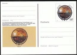 Germany / 500 Years Terrestrial Globe / 500 Jahre Erdglobus / Sindelfingen Fair / Postal Stationery - [7] République Fédérale