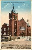 Pays Div- Ref M40- Canada - St Patrick S Church - Sherbrooke - Quebec  - Carte Bon Etat - - Sherbrooke