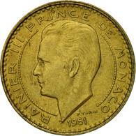 Monnaie, Monaco, Rainier III, 10 Francs, 1951, TTB, Aluminum-Bronze, KM:130 - Monaco
