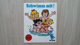 Aufkleber Im Rahmen Einer Schwimm-Aktion Der BARMER Und Der DLRG - Aufkleber