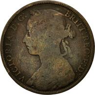 Monnaie, Grande-Bretagne, Victoria, Penny, 1892, TB, Bronze, KM:755 - 1816-1901 : Frappes XIX° S.