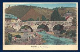 Malmédy. Le Pont D' Outrelepont Sur La Warche. Jeux D'enfants. - Malmedy