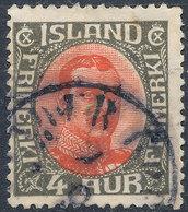 Iceland 1920-31 4a Used Lot34 - Oblitérés
