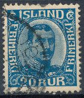Iceland 1920-31 20a Used Lot38 - Oblitérés