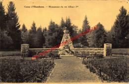 Monument Roi Albert - Camp D'Elsenborn - Bütgenbach - Bütgenbach
