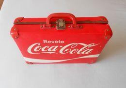 COCA-COLA ... Beautifull Original Vintage Plastic Suitcase ( 1950's ) RRR - Coca-Cola