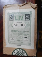 7a) BUSTA PER NEGATIVI FOTOGRAFICI KODAK CARTOLINE SOLIO CREDO 1930 CIRCA - Fotografia
