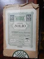 7a) BUSTA PER NEGATIVI FOTOGRAFICI KODAK CARTOLINE SOLIO CREDO 1930 CIRCA - Photography