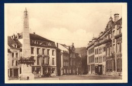 Malmédy. Grand' Place. Obélisque. Hôtel Bristol. 1938 - Malmedy