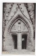 CARHAIX - N° 16 - PORTAIL DE L' EGLISE ST TREMEUR - CPA NON VOYAGEE - Carhaix-Plouguer