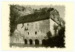 Moulin Forftifié De Cougnaguet. Payrac. Dans La Gorge De L'Ouysse. Monument Historique (XIVè). Dimensions: 120 X 80 Mm. - France