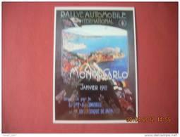 CLOUET  101066  MONACO    MONTE CARLO RALLYE AUTOMOBILE  1912 - Cartes Postales