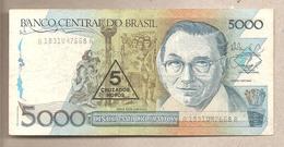 Brasile - Banconota Circolata Da 5 Nuovi Cruzados P-217a - 1989 - Brésil