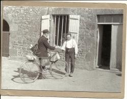 FACTEUR   A    BICYCLETTE       VERS  1950 - Berufe