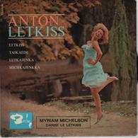 Disque 45 Tours ANTON LETKISS Et Son Orchestre - 1962 - Disco & Pop
