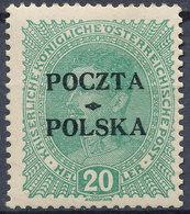 Stamp Poland 1919 Mint Forgery Overpint Lot#18 - ....-1919 Übergangsregierung