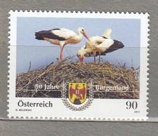 BIRDS AUSTRIA OSTERREICH 2011 Mi 2965 MNH (**) #23071 - Oiseaux