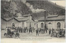 Savoie : Epierre, Usine De  La Corbière, Sortie Des Ouvriers, Belle Animation... - France