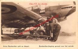Avion Bombardier Prêt Au Départ - 1939-1945: 2ème Guerre