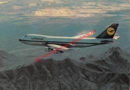 Lufthansa Boeing Jet 747 - 1946-....: Moderne
