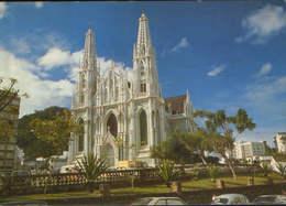 Brazil - Postcard Circulated 1980  - Vitoria - Metropolitan Cathedral State Of Espirito Santo - 2/scans - Vitória
