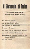B 2064 - Prima Guerra Mondiale, Torino, 1914-18 - Programmi